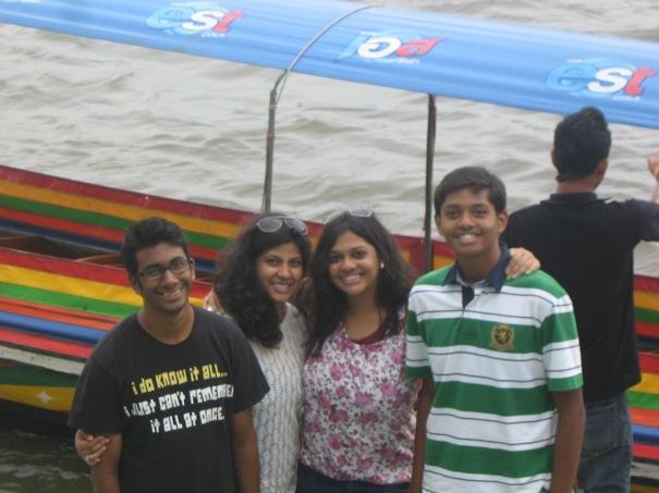 Our Group - Me, Misha, Aditi, Joy